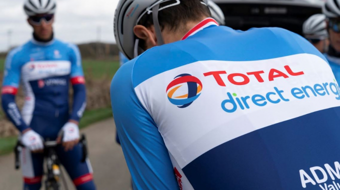 Le maillot Nalini de Total Direct Energie