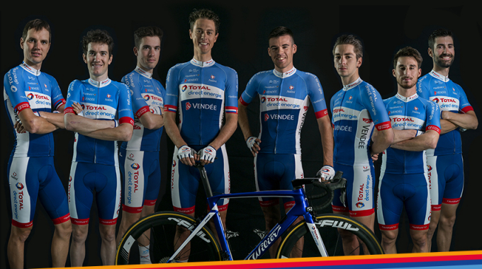 La sélection officielle du Team pour le Tour de France