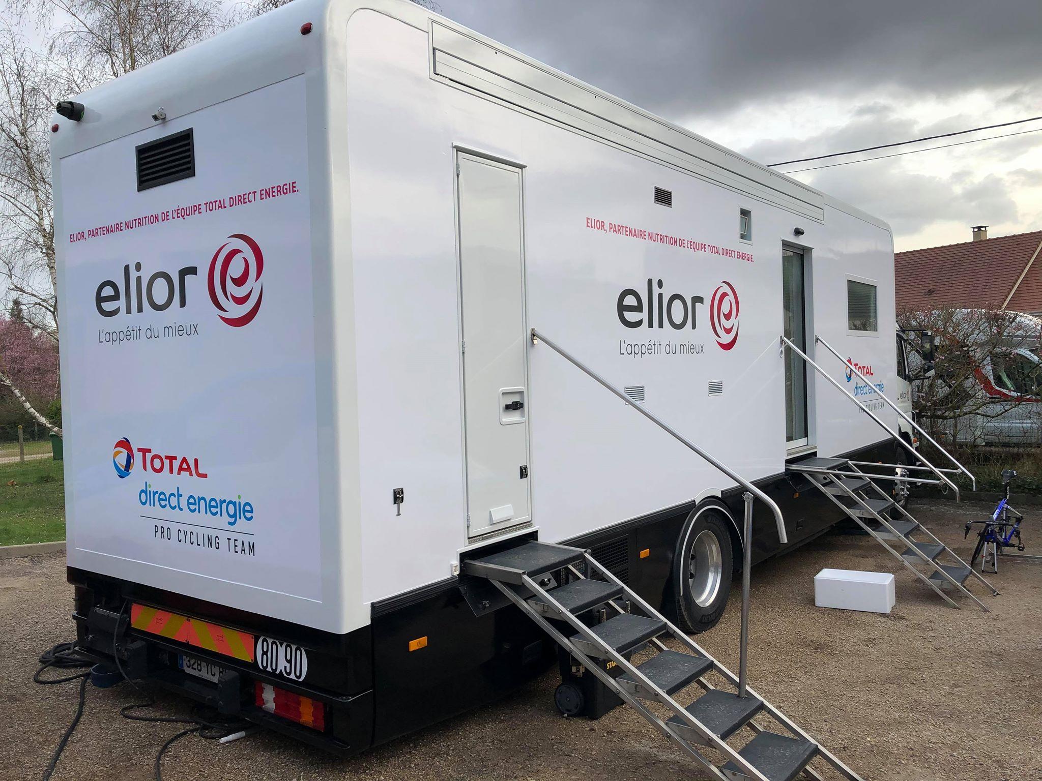 Elior, nouveau partenaire nutrition du Team !