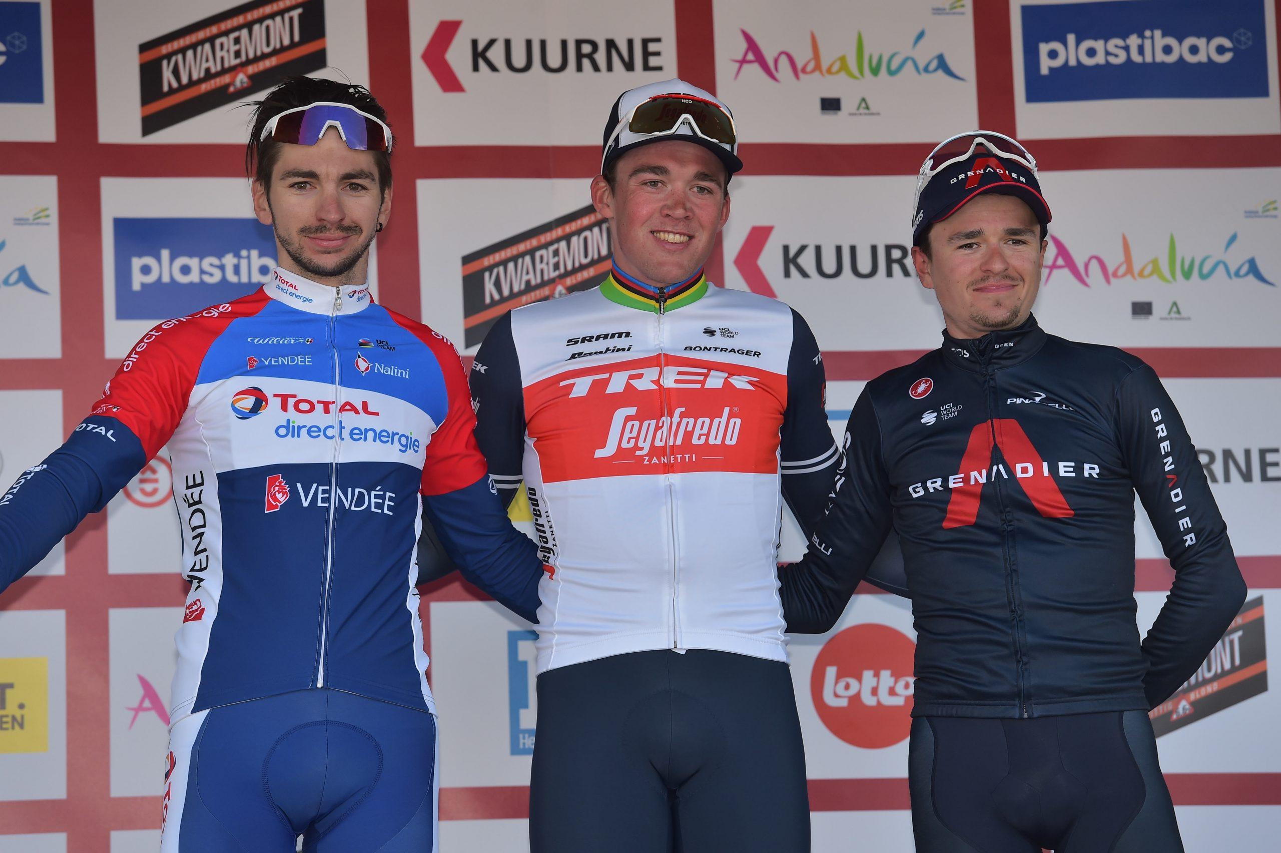 Anthony Turgis termine 2e de Kuurne-Bruxelles-Kuurne !