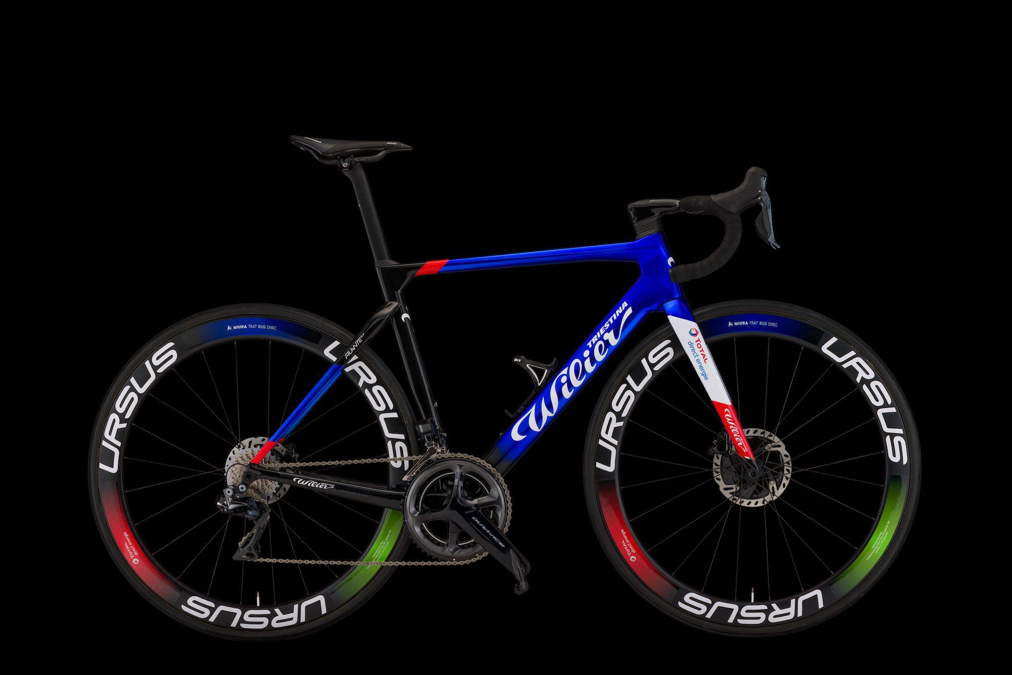 Wilier Triestina présente le nouveau vélo du Team