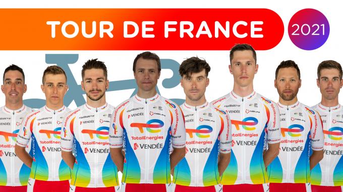 Tour de France : la sélection du Team TotalEnergies